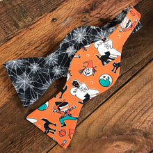 Vintage Halloween and Spiderwebs Bow Tie