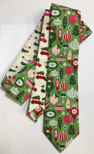 Holiday Ornaments Necktie