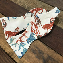 Painted Horses in Rust Bow Tie