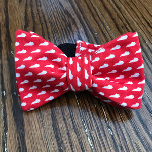 Red Kentucky Bow Tie