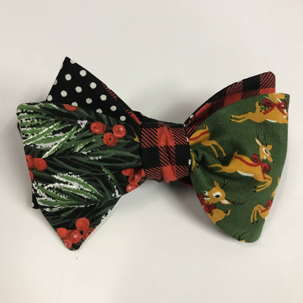 Wonderful Christmas Time Quad Bow Tie