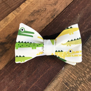See Ya Later Alligator Bow Tie