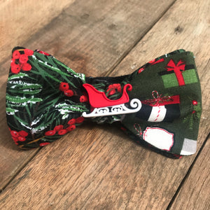 Sleigh Ride Bow Tie