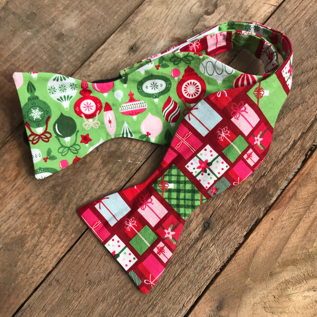 Presents and Ornaments Bow Tie