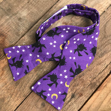 Purple Witches Halloween Bow Ties