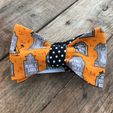 Tombstones and Polka Dots Bow Tie
