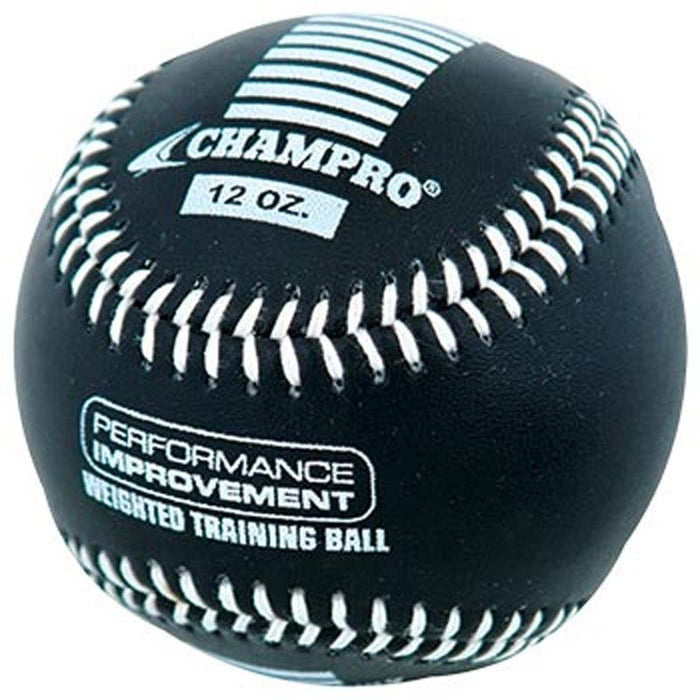 Champro 12 oz Weighted Training Baseball: CBB712CS