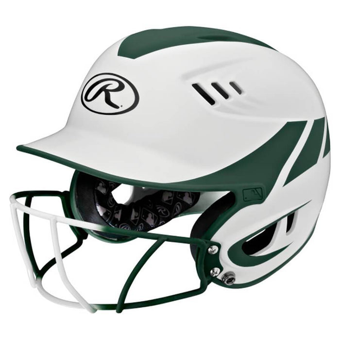 Rawlings Home Velo Softball Helmet W-Mask Senior: R16H2FGS