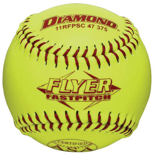 Diamond Flyer ASA 11 Inch Synthetic Softball: 11RFPSC47