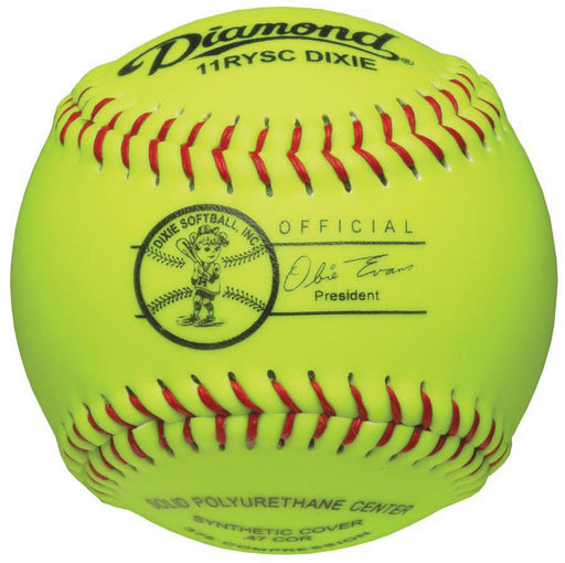 Diamond Dixie Youth 11 Inch Synthetic Softball: 11RYSCDIXIE