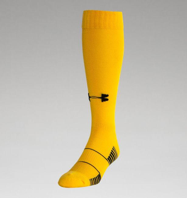 Under Armour Youth Solid Game Socks Gold Large: U457Y