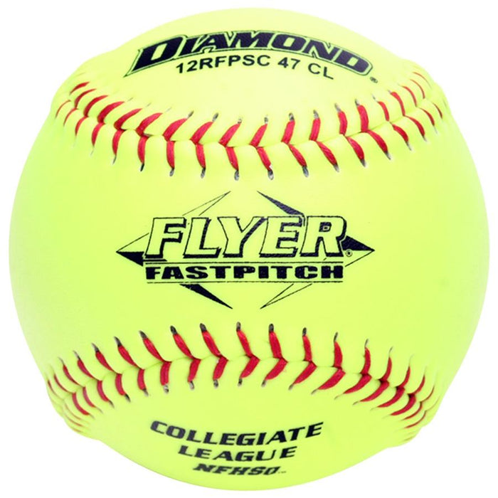 Diamond Flyer NFHS 12 Inch Synthetic Softball: 12RFPSC47CL