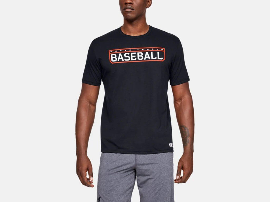 Under Armour Lockup Men's Baseball Graphic T-Shirt: 1343257