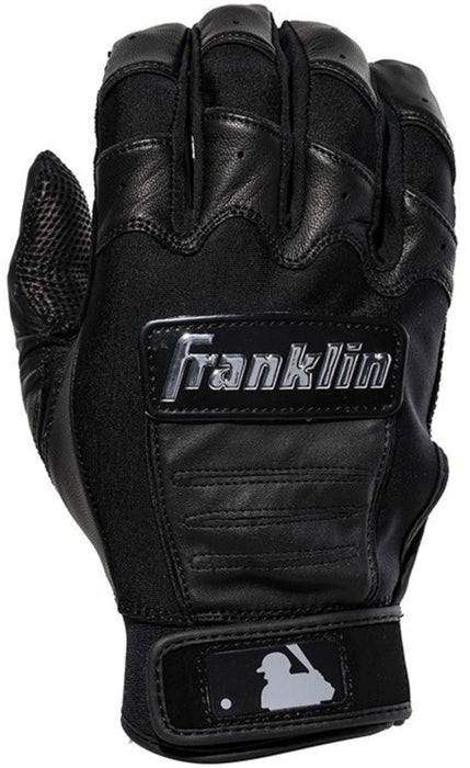 Franklin CFX Chrome Batting Gloves Black Small : 2059