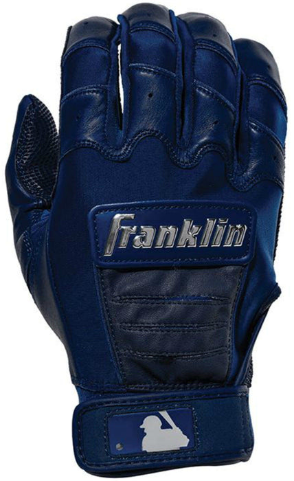 Franklin CFX Chrome Batting Gloves Navy Small: 2059