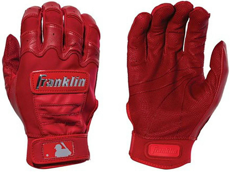 Franklin CFX Chrome Batting Gloves Red Medium: 2059