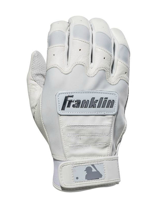 Franklin CFX Chrome Batting Gloves White Medium: 2059