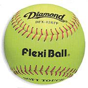 Diamond 12 Inch Flexi Softball: DFX12RFP