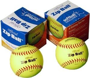 Softball Excellence Zip Ball Case - 12 Balls with-DVD