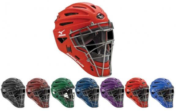 Mizuno Youth Samurai Catchers Helmet