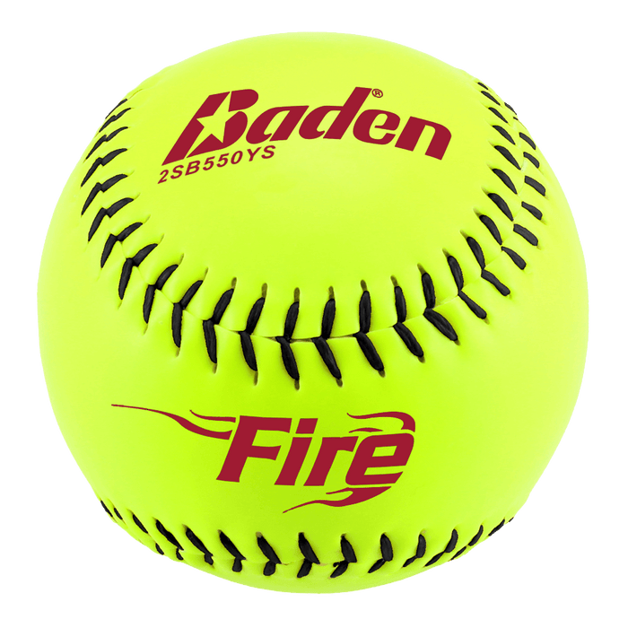 Baden Fire 2SB550YS NO Stamping 44-375 Slowpitch Softball