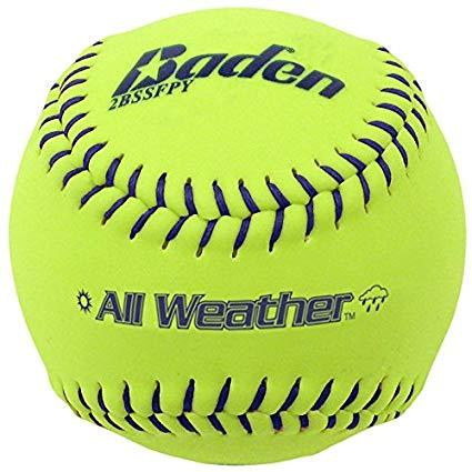Baden All-Weather 12 Inch Coreguard Cover Fastpitch Softball: 2BSSFPY