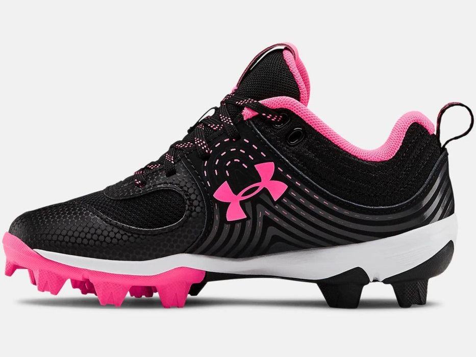 UA Glyde RM Jr Girl's Softball Cleat: 3022077