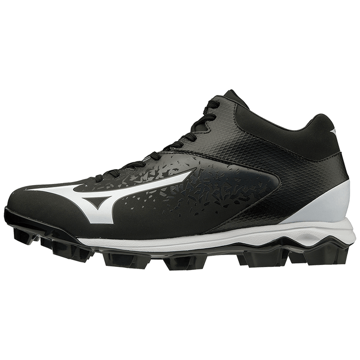 Mizuno Select Nine TPU Mid Men's Molded Baseball Cleat: 320585
