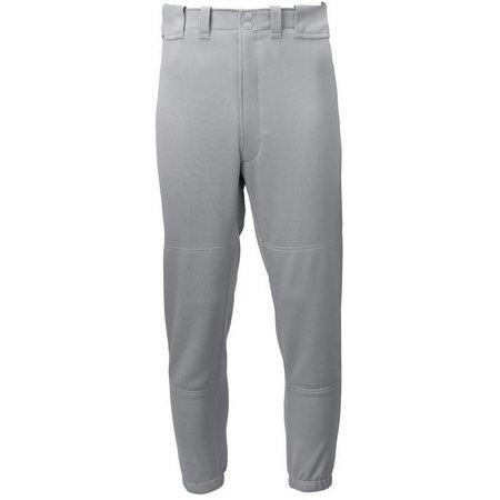 Mizuno Womens Belted Low Rise Pants Gray Large: 350150