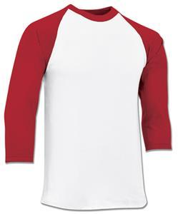 Champro Youth Veteran 3/4 Baseball Cotton Sleeve Jersey: BS8