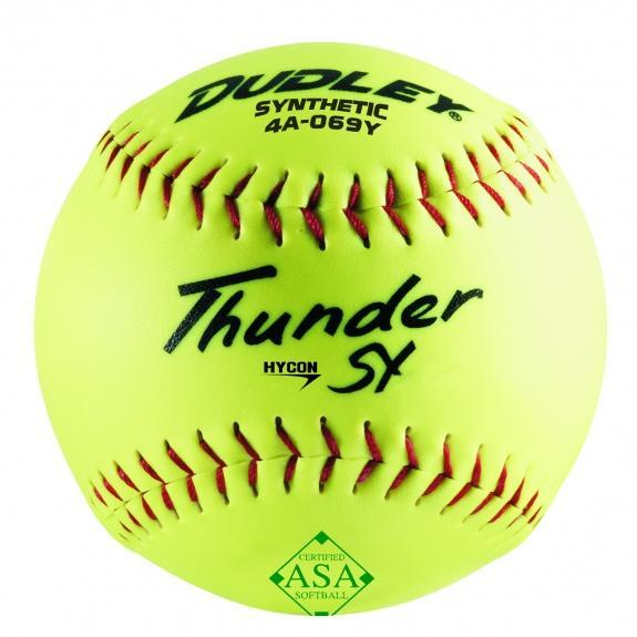 Dudley Hycon SY Synthetic ASA 52-300 12 Inch Softball: 4A069Y