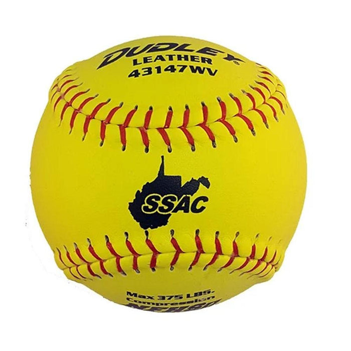 Dudley WVSSAC/NFHS Thunder Heat Fastpitch Softball - One Dozen :  43147WV