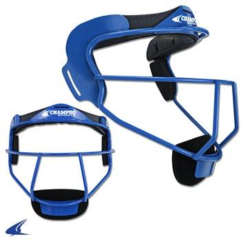 Champro Grill Softball Mask Youth: CM01 Royal