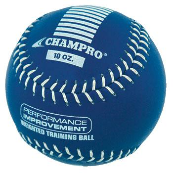 Champro 10 oz Weighted Training Baseball: CBB710CS