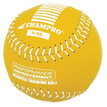 Champro 11 oz Weighted Training Softball: CSB711CS