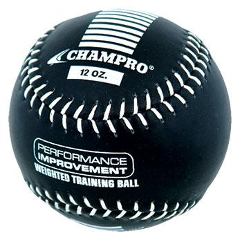 Champro 12 oz Weighted Training Softball: CSB712CS