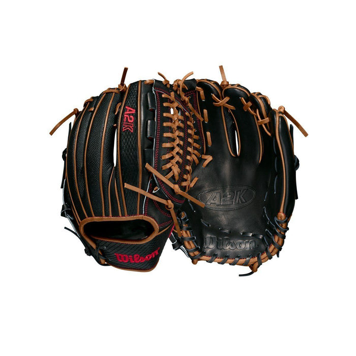 "2021 Wilson A2K D33SS 11.75"" Pitcher's Baseball Glove"