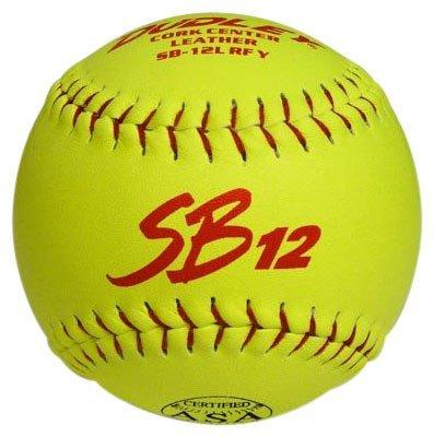 Dudley SB12RF-Yellow- Cork 44-375 Softball 12 Inch
