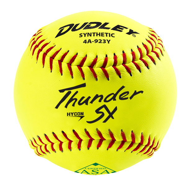 Dudley SY Series Synthetic ASA 11 Inch Slowpitch Softball: 4A923Y