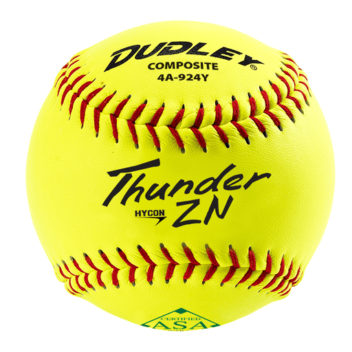 Dudley ZN Series Composite ASA 11 Inch Slowpitch Softball: 4A924Y