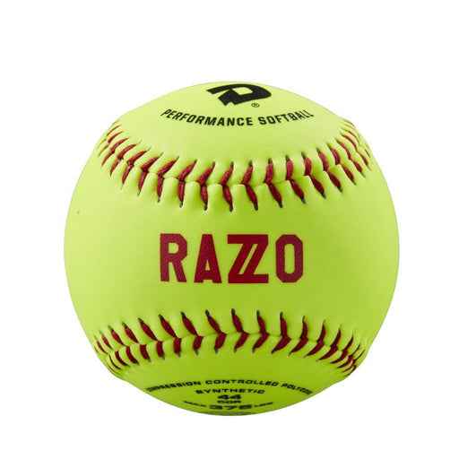 "DeMarini Razzo 11"" ASA Synthetic Slowpitch Softball 44-375 - One Order: WTDRZOS11AB"