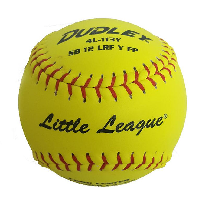 Dudley Little League .47 375 Fastpitch Softballs 12 Inch: 4L113Y