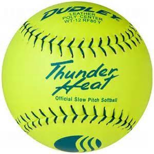 Dudley WT12 Thunder Heat Leather Classic M USSSA 12 Inch Softball