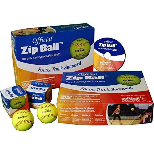 Softball Excellence Zip Ball Case - 12 Balls with-DVD: 0168C