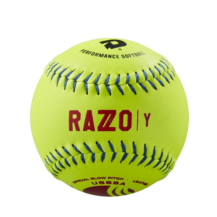 DeMarini Razzo Classic Plus USSSA Leather 52-300: WTDRZYL12UB