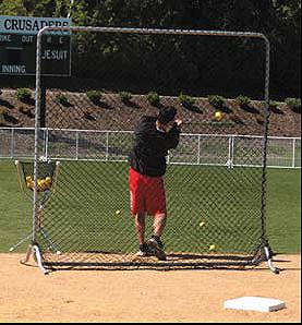 JUGS 8' Square Fungo Screen