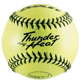 Dudley Thunder Heat NSA Fastpitch 12 Inch Leather Softball: 4E904Y