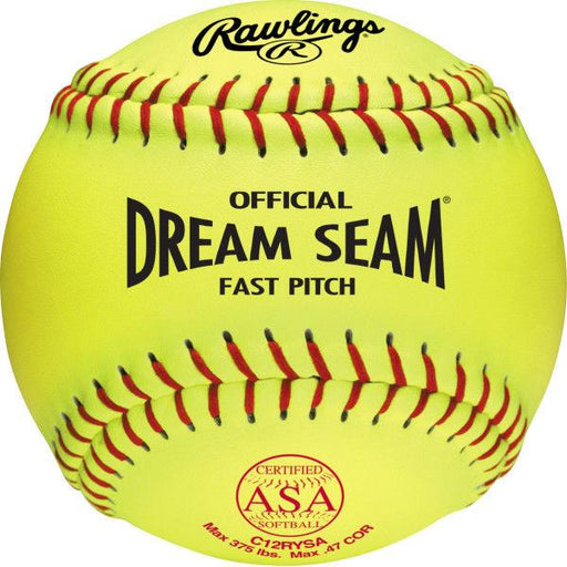 Rawlings Dream Seam ASA NFHA Fastpitch Softball: C12RYSA