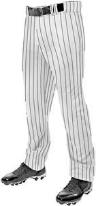 Champro Triple Crown Open Bottom Pinstripe Youth Pants: BPPINUY