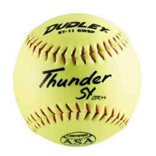 Dudley 11 Inch Thunder SY Series ASA Slowpitch Softball: 4A722N
